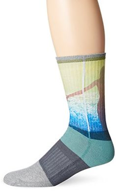 Introducing KurB Mens Bikini Crew Sock Mineral Blue 1013Shoe Size 612. Great product and follow us for more updates!