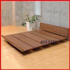 Platform Bed Designs, Bed Platform, Japanese Platform Bed, Platform Bed Plans, Wooden Platform Bed, Black Platform, Bed Furniture, Pallet Furniture, Furniture Design
