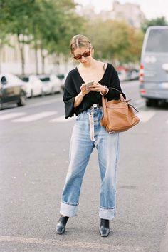 A Feminine Tomboy — Paris Fashion Week SS 2017…Irina   Vanessa Jackman