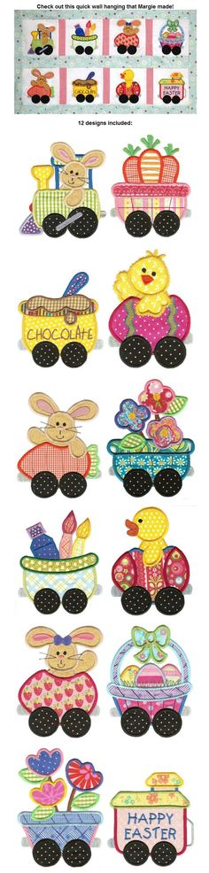 Embroidery | Free Machine Embroidery Designs | Cottontail Express Applique