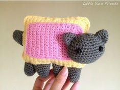 2000 Free Amigurumi Patterns: Free Crochet Pattern: Nyan Cat