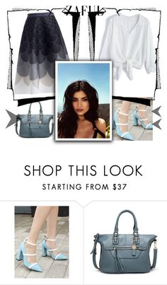 """""""# Zaful # 7"""" by deyanafashion ❤ liked on Polyvore featuring Topshop"""