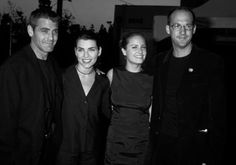 George Clooney, Anthony Edwards, Sherry Stringfield, Julianna Margulies. All awesome people from ER