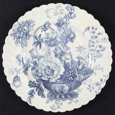 Royal Staffordshire Charlotte-Blue at Replacements, Ltd
