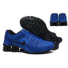 Mens Nike Shox 2016 Shoes Saphire Black