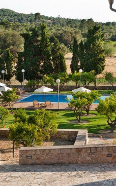 MALLORCA: Hotel Finca Son Roig, Porreres, Spain. Balearic Islands