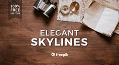 Free Skyline Graphics This week we have a collection of free skyline graphics provided by Freepik. Free Web Design, Free Website Templates, Web Design Projects, Photography Sites, Lettering Tutorial, Drupal, Creative Photos, Business Design, Wordpress Theme