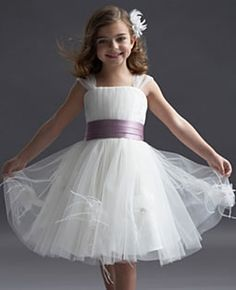flower-girl dress