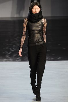 helmut lang rtw fall 2012 perfection!