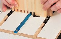 Box joints are versatile and great for many woodworking projects. Learn how to cut them using a table saw jig or router.