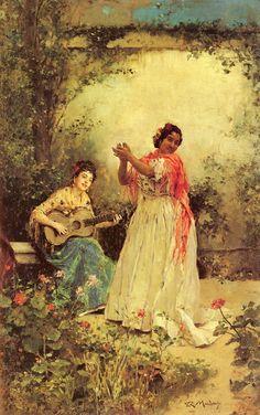 Raimundo de Madrazo y Garreta 1841-1920 bella y canto
