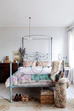 Une chambre florale - Marie Claire Maison