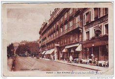 75. PARIS . RUE D'AUTEUIL . AUBERGE DU MOUTON BLANC. ANIMATION. COLLECTION ANDRIEU