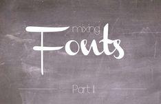 mein Feenstaub – DIY, Deko und Rezepte: {Typography & free fonts} Schriften kombinieren – ...