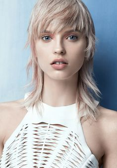 Hair Artist, Christophe Gaillet, makes a real statement about femininity. Subtly…