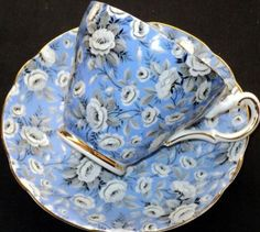 Blue chintz |Pinned from PinTo for iPad|