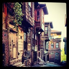 Beautiful old homes, Istanbul