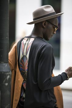Street looks à la Fashion Week homme printemps-été 2016 de Londres e2a2393be71b