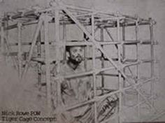 Another POW, Nick Rowe, was held by the Viet Cong in cages like this for five years until he was moved and escaped. Its hard to find any photos or images of Viet coong cages so apologies for the slight blurring on this one, which I had to blow up.