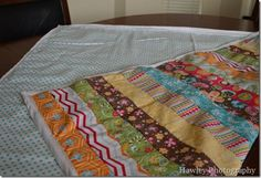 Simple Basic Quilt Tutorial from Life With the Hawleys