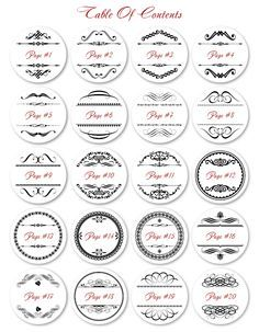 Free avery templates martha stewart whimsical wedding border they come in 10 different colors 20 different designs to choose from in ready to print pdf templates these round labels pronofoot35fo Gallery
