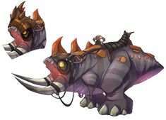Agorian Beast from Ratchet & Clank Future: A Crack in Time