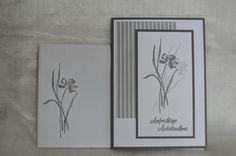 Trauerkarte: alle Materialien von SU