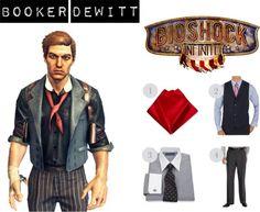 Everyday Cosplay - Booker Dewitt - Bioshock Infinite  sc 1 st  Pinterest & 19 best Genderbent Booker Cosplay images on Pinterest | Bioshock ...
