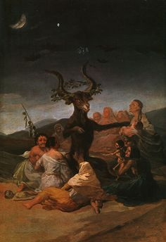 Witches' Sabbath, 1798. Francisco Goya. Museo Lázaro Galdiano, Madrid