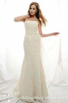 Eden Bridal Gown SL008 - Visit Wedding Shoppe Inc. for designer bridal gowns, bridesmaid dresses, and much more at http://www.weddingshoppeinc.com