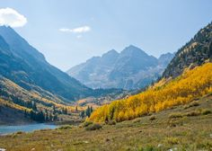 One of my favorite places: Maroon Bells, Aspen Colorado