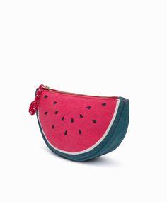 Watermelon toiletry bag oysho