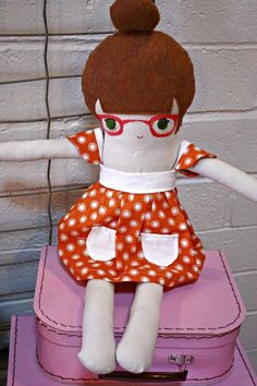 adorable hipster doll.