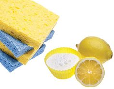 Homemade Cleaners Save money and have a healthier home with these ideas for assembling your own green cleaning tool kit. Plus, get our recipe for Lemon-Mint Window Wash. Homemade Cleaning Supplies, Cleaning Recipes, Cleaning Hacks, Dry Cleaning, Cleaners Homemade, Diy Cleaners, Household Cleaners, Green Cleaning, Spring Cleaning