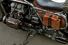 Dave Geertsen created this Steampunk motorcycle all by himself from the ground up, creating most of the parts by hand. Description from pinterest.com. I searched for this on bing.com/images