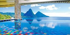 The best swimming pools in the World = Santa Lucia Santa Lucia, Amazing Swimming Pools, Best Swimming, Infinity Pools, Hotel Pool, Pool Spa, Dream Vacations, Vacation Spots, Luxury Pools