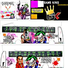Bussid Kerala skin By Game King: Bussid Joker Edition Livery Mafia Batman Comic Art, Batman Comics, Batman Robin, Phone Wallpaper Images, Boys Wallpaper, Mafia, Star Bus, Bus Games, Indian Flag Wallpaper