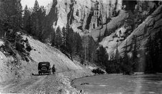 Danzero family vacation, Yellowstone National Park, 1923, Special Collections and Archives, Missouri State University (pinned by haw-creek.com)