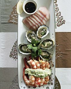 Jane and Jeremy Strode's showstopper of a seafood platter