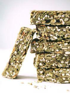 Matcha Green Granola Bars