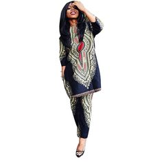 fa1d37297b4 2016 Autumn Two Piece Set Wax Top and Pants Women Suits Two Piece Set  African Women Clothing Plus Size   AliExpress Affiliate s Pin.