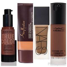 black-girl-makeup:   Foundations for black girls - Makeup Skin care Hair care