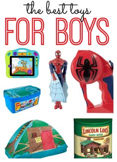 The best toys for boys!