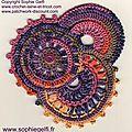 1er Tuto crochet freeform disponible - Sophie Gelfi créations textiles