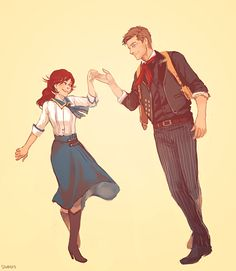I like to think that in some world, in some time, Elizabeth got her dance.