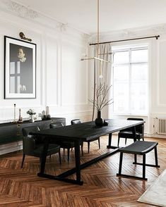 industrial style decor trends to make a lasting impression in your guest., Vintage industrial style decor trends to make a lasting impression in your guest. Home Interior Design, Interior Architecture, Interior Modern, Modern Furniture, Concrete Architecture, Dark Furniture, Classical Architecture, Luxury Interior, Interior Ideas