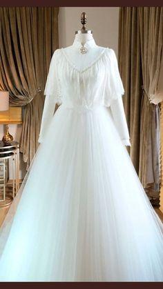 Muslim Wedding Dresses, Muslim Brides, Dream Wedding Dresses, Wedding Gowns, Bridal Hijab, Bridal Outfits, Bridal Dresses, Flower Girl Dresses, Hijab Fashion