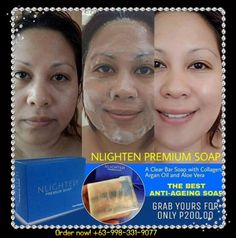 Nlighten Premium Soap is very well formulated with powerful moisturizers, Aloe Vera and Argan Oil which are exceptionally blended with Collagen. It helps in cleansing the skin while retaining its natural moisture. Here's more! It is dynamically blend with Collagen which effectively helps in achieving a soft, more supple and even skin tone.