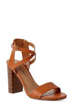 It's A Date Brown High Heel Sandals at reddressboutique.com
