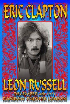 Eric Clapton 1971 London Rainbow